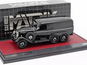 Mercedes-Benz G4 van (W31) year 1939 black 1:43 Matrix