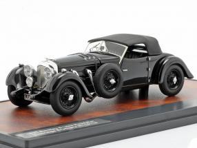 Bentley 8 liter Roadster Closed Top year 1932 black 1:43 Matrix