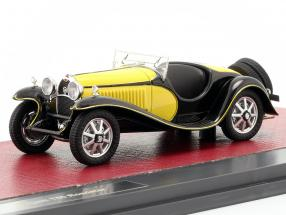 Bugatti T55 Roadster year 1932 yellow / black 1:43 Matrix