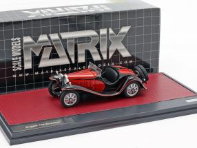 Bugatti T55 Roadster year 1932 red / black 1:43 Matrix