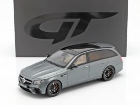 Mercedes-Benz AMG E63 S T-Model year 2017 selenite grey 1:18 GT-Spirit