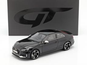 Audi RS5 year 2017 black 1:18 GT-Spirit