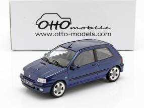 Renault Clio 16V Phase 2 year 1995 Monaco blue 1:18 OttOmobile
