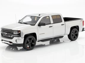 Chevrolet Silverado Pick-Up Redline Edition 2018 silver metallic 1:18 GT-Spirit