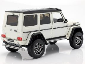 Mercedes-Benz G500 4x4² Concept year 2015 polar white 1:18 Almost Real