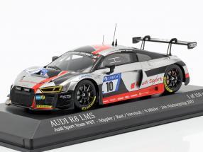 Audi R8 LMS #10 24h Nürburgring 2017 Stippler, Rast, Vervisch, Müller 1:43 Minichamps