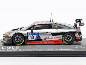 Audi R8 LMS #10 24h Nürburgring 2017 Stippler, Rast, Vervisch, Müller