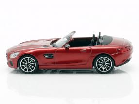 Mercedes-Benz AMG GT S Roadster year 2015 red metallic