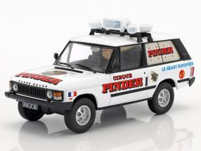 Land Rover Range Rover Advertising vehicle Pinder circus White 1:43 Direkt Collections