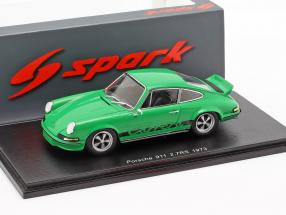 Porsche 911 Carrera RS 2.7 year 1973 green