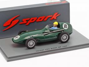 Jose Froilan Gonzalez Vanwall VW2 #18 British GP formula 1 1956 1:43 Spark
