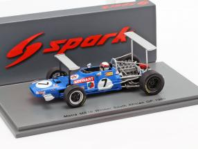 Jackie Stewart Matra MS10 #7 Winner South Africa GP World Champion F1 1969 1:43 Spark