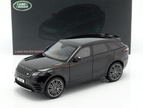 Land Rover Range Rover Velar built in 2018 black 1:18 LCD Models