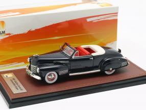 Cadillac Series 62 Convertible Open Top year 1941 dark blue 1:43 GLM