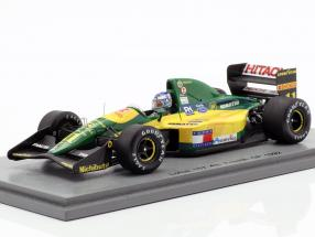 Mika Häkkinen Lotus 107 #11 4th French GP formula 1 1992 1:43 Spark