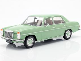 Mercedes-Benz 220D/8 (W115) year 1972 light green 1:18 Model Car Group