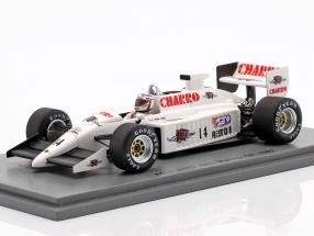 Pascal Fabre AGS JH22 #14 San Marino GP Formel 1 1987 1:43 Spark