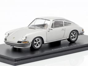 Porsche 911 2.4 year 1973 silver gray 1:43 Spark