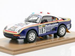 Porsche 959 #187 Rally Paris - Dakar 1986 Kussmaul, Unger
