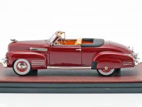Cadillac Series 62 Convertible Open Top year 1941 dark red  GLM