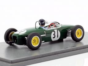 Jim Clark Lotus 18 #31 Winner Oulton Park Formula Junior 1960