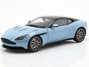 Aston Martin DB11 coupe year 2017 light blue metallic 1:18 AUTOart