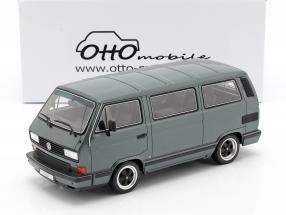 Porsche B32 based on VW T3 bus year 1985 tungsten gray metallic 1:18 OttOmobile