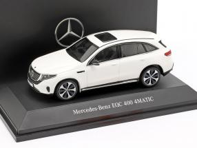 Mercedes-Benz EQC 400 4MATIC (N293) year 2019 polar white 1:43 Spark