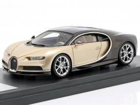 Bugatti Chiron Geneva Motor Show 2016 gold / brown 1:43 LookSmart