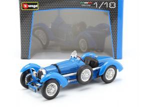 Bugatti Grade 59 Year 1934 blue 1:18 Bburago