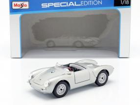 Porsche 550 A Spyder Year 1950 silver 1:18 Maisto