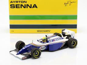 Ayrton Senna Williams FW16 #2 San Marino GP formula 1 1994 1:18 Minichamps