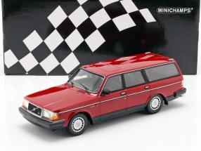 Volvo 240 GL Break year 1986 red 1:18 Minichamps
