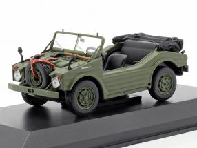 Porsche 597 Hunting Car year 1954 olive 1:43 Minichamps