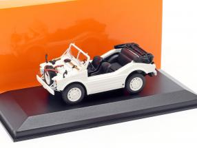 Porsche 597 Hunting Car year 1954 white 1:43 Minichamps