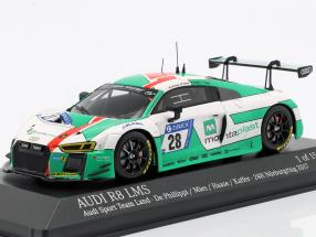 Audi R8 LMS #28 24h Nürburgring 2017 Audi Sport Team Land 1:43 Minichamps