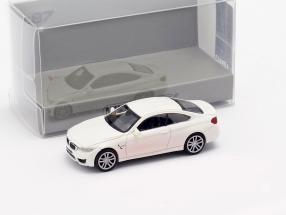 BMW M4 Coupe year 2015 white 1:87 Minichamps