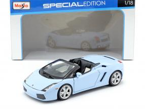 Lamborghini Gallardo Spyder light blue 1:18 Maisto