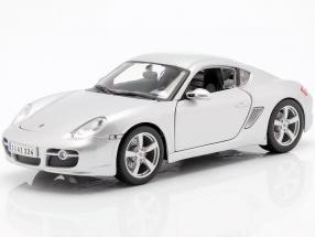 Porsche Cayman S silver 1:18 Maisto
