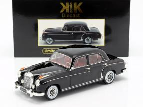 Mercedes-Benz 220 S limousine (W180II) year 1956 black 1:18 KK-Scale