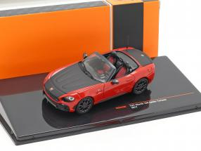 Fiat Abarth 124 Spider Turismo year 2017 red / black 1:43 Ixo