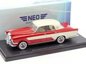 Mercedes-Benz Ghia 300C Berlina year 1956 red / beige 1:43 Neo