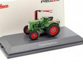Fendt F20G Dieselross tractor with cutting bar green 1:43 Schuco