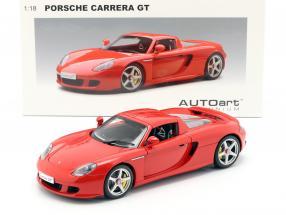 Porsche Carrera GT red 1:18 AUTOart