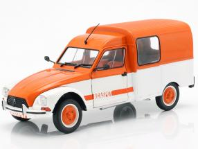 Citroen Acadiane Acaspot white / orange 1:18 Solido