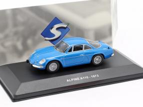 Alpine A110 Berlinette year 1973 blue 1:43 Solido