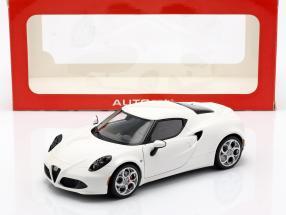 Alfa Romeo 4C Baujahr 2013 weiß 1:18 AUTOart