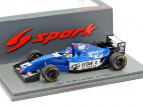 Franck Lagorce Ligier JS39B #25 Australian GP formula 1 1994 1:43 Spark