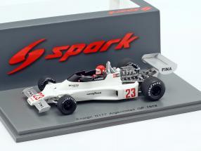 Lamberto Leoni Ensign N177 #23 Argentinian GP Formula 1 1978 1:43 Spark