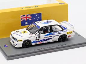 BMW M3 (E30) #42 Winner Bathurst WTCC 1987 Cecotto, Brancatelli 1:43 Spark